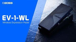 BOSS EV-1-WL - Wireless MIDI Expression Pedal