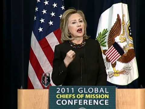 Secretary Clinton Delivers Remarks at Global Chiefs of Mission Conference