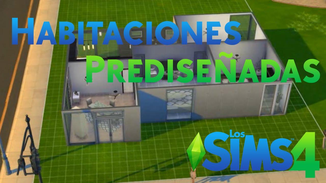 Los sims 4 construcci n con habitaciones predise adas for Cuartos para ninos sims 4