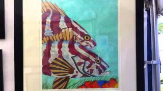 meet Carol Swayze, printmaker from Englewood, Fl, tel # 941-266-6434