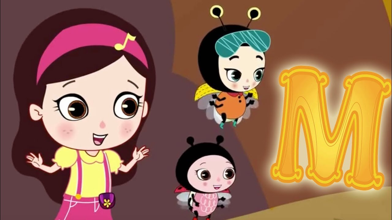 Download Letter M - Olive and the Rhyme Rescue Crew | Learn ABC | Sing Nursery Songs