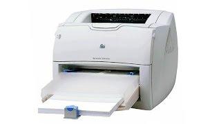замена термопленки в принтере HP LaserJet 1200. Классика