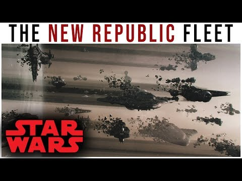 The NEW REPUBLIC FLEET in The Force Awakens -- Concept Art Analyzed