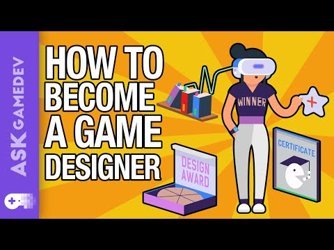 How To Become A Video Game Designer!