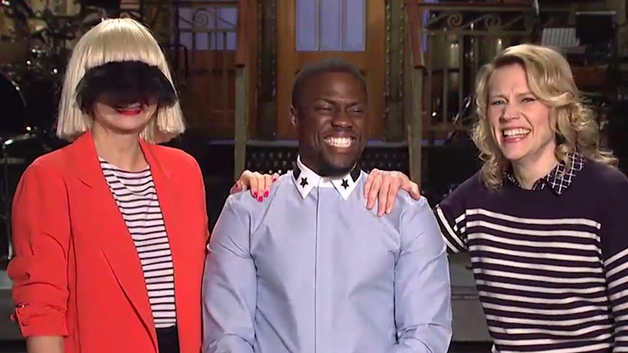 Sia S Strange Saturday Night Live Promo With Kevin Hart