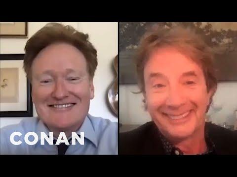 #ConanAtHome: Martin Short Full Interview - CONAN on TBS
