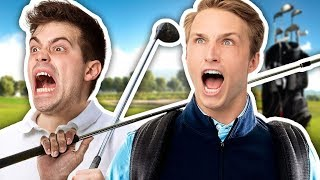 SCREAMING WHILE GOLFING | Golfing Over It