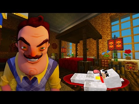 Minecraft Xbox | Hello Neighbor Alpha 4 | The White House
