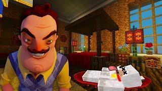 Minecraft Xbox | Hello Neighbor Alpha 4 | The White House