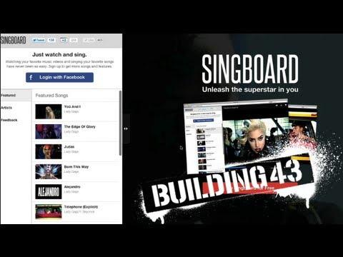 Singboard: online karaoke