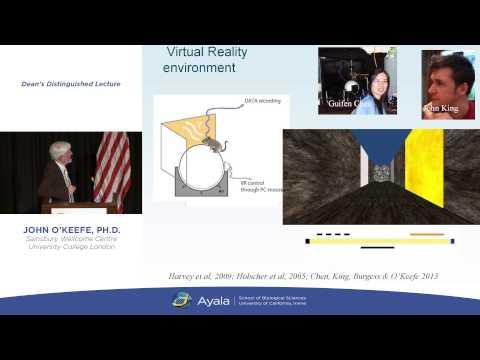 "Nobel Laureate John O'Keefe, Ph.D. - ""Reverse Engineering the Brain's Cognitive Map"""