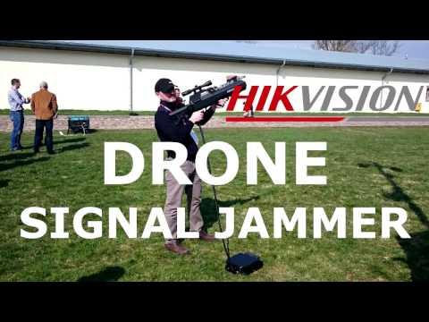 HiKVision DRONE signal JAMMER test defender gun