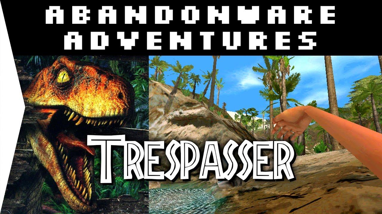 The Influential FAILURE! - Trespasser: Jurassic Park ► 1998 Dino Game! -  [Abandonware Adventures!]