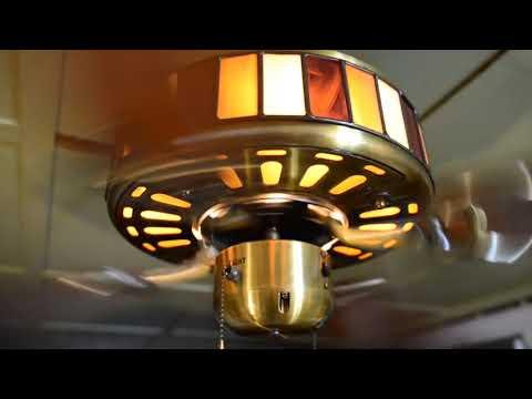 """BHW (Firebird) Crown 52"""" Lighted-Housing Ceiling Fan"""