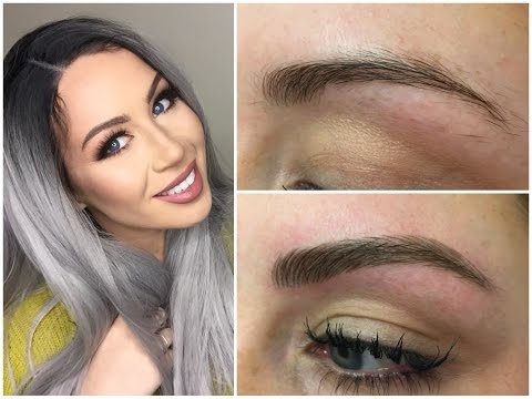 Microblading eyebrow tattoo experience before and after - CC Clarke Beauty