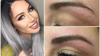 One of CC Clarke Beauty's most viewed videos: Microblading eyebrow tattoo experience before and after - CC Clarke Beauty