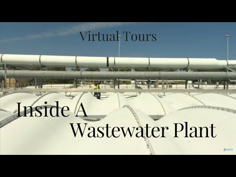 Inside a wastewater treatment plant | Virtual tours