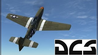 DCS - P-51 - Online Play - A night of success