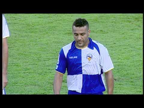 Gol de El Yaagoubi (1-0) en el CE Sabadell - Xerez Jornada 6