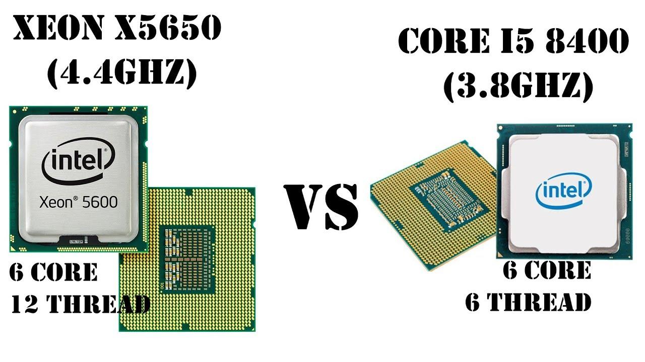 Есть ещё порох в пороховницах?! Тест сравнение Xeon X5650 vs Core i5 8400. 1366 vs 1151