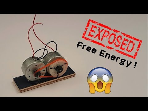 EXPOSED : Free Energy Motor Secret Revealed 😲😲😲 (Creative Life)