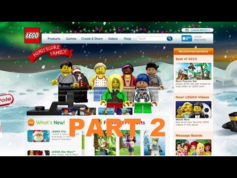 LEGO Official Website (2005 Version) Walkthrough Part 2