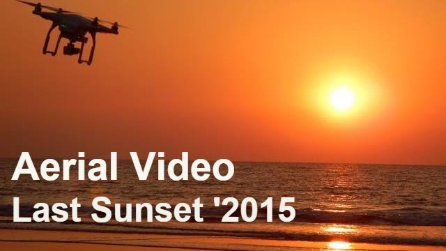 Sunset Drone video | Ratnagiri India