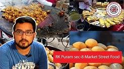 Food joints in RK puram sec-8/ Delhi food vlog