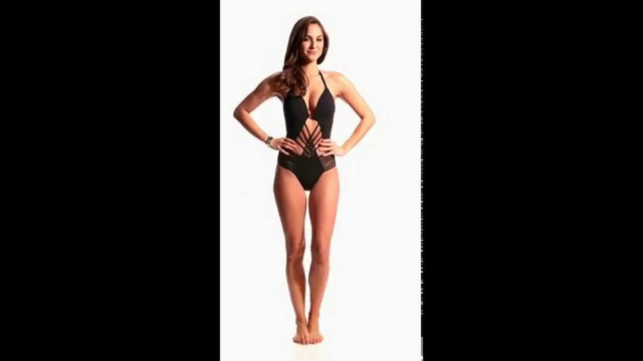 0315ce957c995 Kenneth Cole Swimwear Sexy Solids Push Up One Piece Swimsuit |  SwimOutlet.com