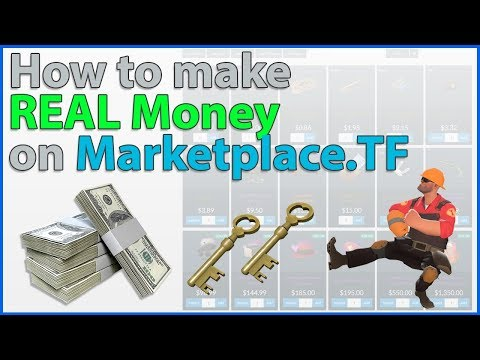 TF2: Guide To Making REAL Money On Marketplace.TF