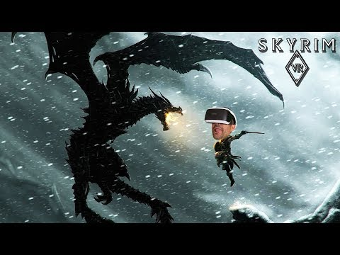 SKYRIM VR - PRIMERAS HORAS DE JUEGO | PS4 Pro y PSVR Gameplay en Español