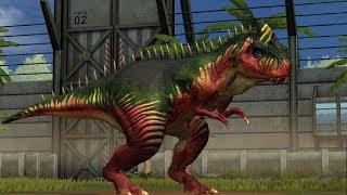 Jurassic World Game Mobile #27: Giganotosaurus khủng long mạnh nhất luôn =))