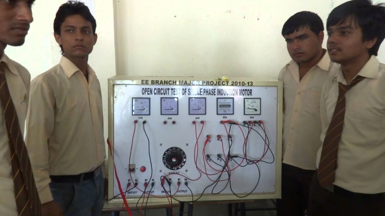 Electrical Final Year Project - JKP Polytechnic - YouTube