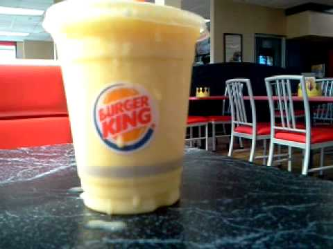 Burger King Mango Smoothie Experience