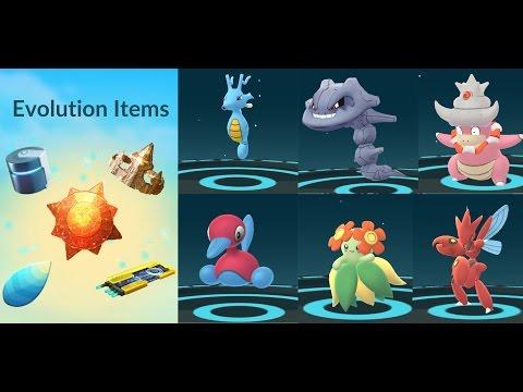 EVOLUTION ITEMS POKÉMON GO GEN 2