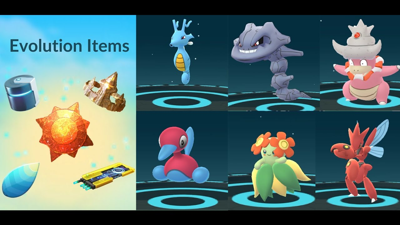 3ee201693d EVOLUTION ITEMS POKÉMON GO GEN 2 - YouTube
