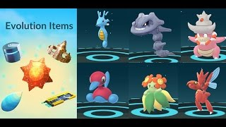EVOLUTION ITEMS POKÉMON GO GEN 2
