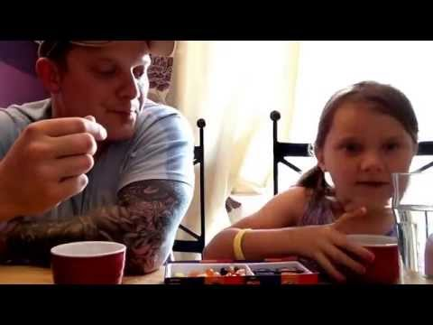 sofie and dad bean boozled challenge