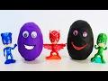 ГЕРОИ В МАСКАХ Мультик Новые серии Видео для детей про игрушки Герои в масках Киндер яйца pj masks mp3