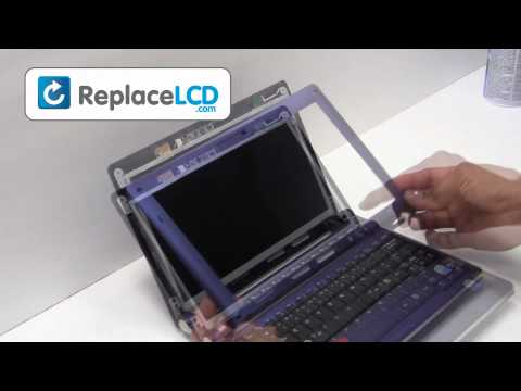 Laptop Screen Replacement, LCD Screen Replacement Guide - Samsung NC10