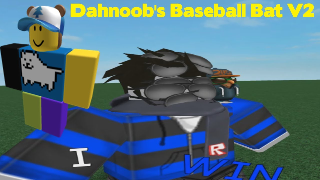 Roblox Noob Bat Roblox Script Showcase Dahnoob S Baseball Bat V2 Youtube