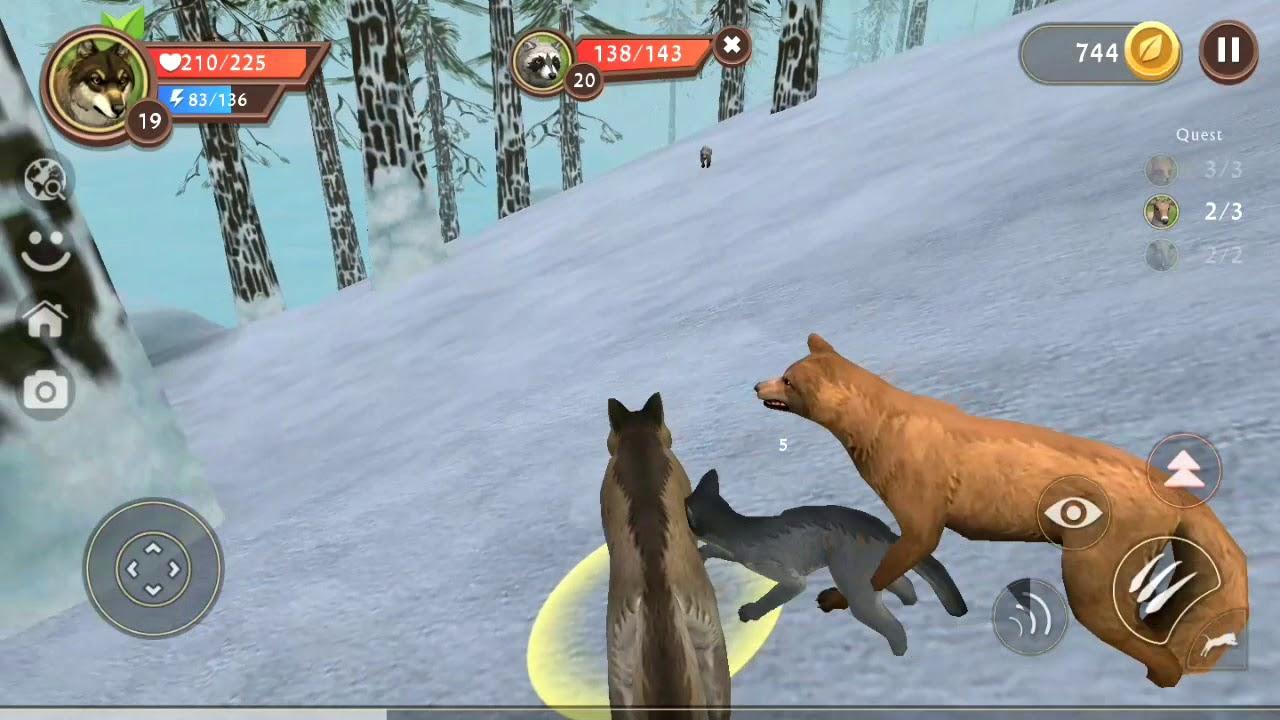 لعبة الذئب #28 | العاب حيوانات مفترسة animals Games | العاب اطفال