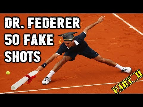 The Dr. Federer Lesson series is BACK! ● 10 sick ways he can surprise or fake you out