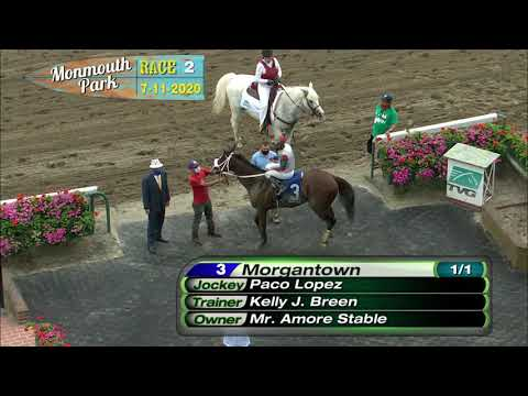 video thumbnail for MONMOUTH PARK 07-11-20 RACE 2
