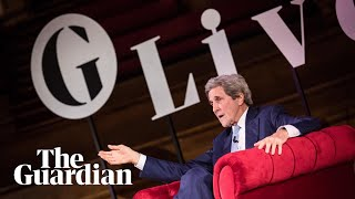 John Kerry on Donald Trump, the US midterms and climate change: 'There's always hope'