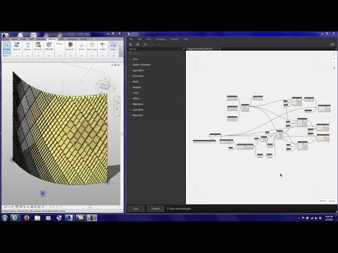 20150307 Tutorial Dynamo Diagrid Densities Point Attractor Script