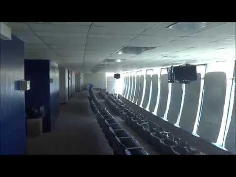 Mini tour of SunBowl stadium @ UTEP in El Paso TX
