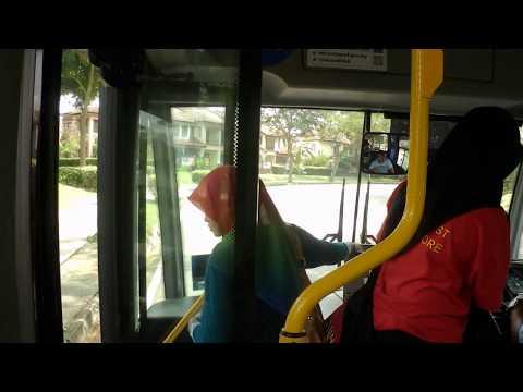 [Putrajaya, Malaysia Bus]@L01 Putrajaya Sentral(KLIA Transit Putrajaya Station)→Masjid Putra粉紅色清真寺