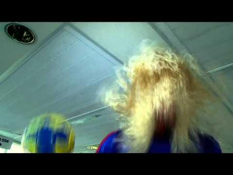 karaoké de l'équipe de France de handball en Suède !