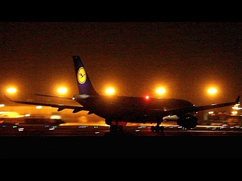 {TrueSound}™ Swiss + TAMPA + Lufthansa Airbus A330 Takeoff Action at Miami 10/25/15